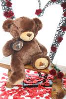 Sweetie Pie Big Love hazelnut brown teddy bear 30in