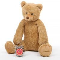 Honey Tubs amber brown teddy bear 36in