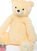 Tiny Tubs vanilla cream teddy bear 42in
