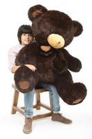 Big Papa Hugs chocolate brown teddy bear 45in