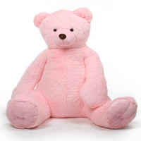 Darling Tubs pink teddy bear 65in