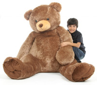 Sweetie Tubs mocha brown teddy bear 65in