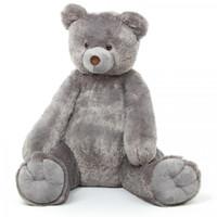 Sugar Tubs cuddly gray plush teddy bear 32in