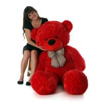 60in amazing gift Cuddles Red Teddy Bear