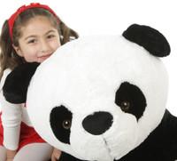Papa Xin Giant Black and White Stuffed Huge Panda Bear 42in