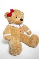 Sugar Gingerbread Cuddles 24 inch Sweet Christmas Teddy Bear Gift!