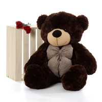 Brownie Cuddles is just over 3ft tall (38in) and is so soft and cuddly