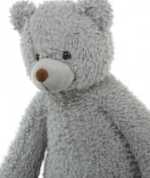 Sugar Kisses Valentine's Teddy Bears with Heart I Love You Woolly Tubs 42 inch and 32 inch