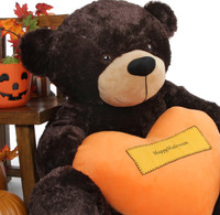 Happy Halloween Teddy Bear 4 foot