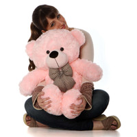 Lady Cuddles - 30 - Super Soft & Huggable, Pink Giant Teddy Plush