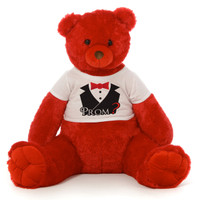 Prom Red Bear