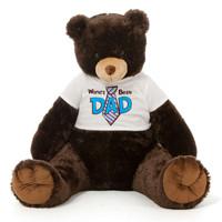Dk Brown Teddy Bear Gift For Dad