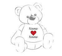 T-Shirt Gallery (Name (heart) Name)-VD-03