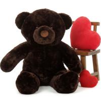 Munchkin Chubs Plush Adorable Chocolate Brown Teddy Bear 48in