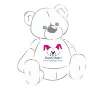 Personalized Bunny Bear! Giant Teddy Bear Easter shirt