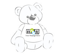 Mom To Be Personalized Giant Teddy Bear shirt