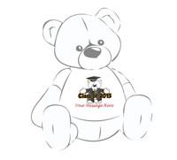 Teddy Bear T-shirt Graduation Cap & Gown 2015
