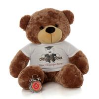 Huge 48in Class of 20XX Personalized Graduation teddy bear