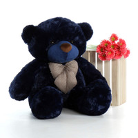 4ft Royce Cuddles Navy Blue Giant Teddy