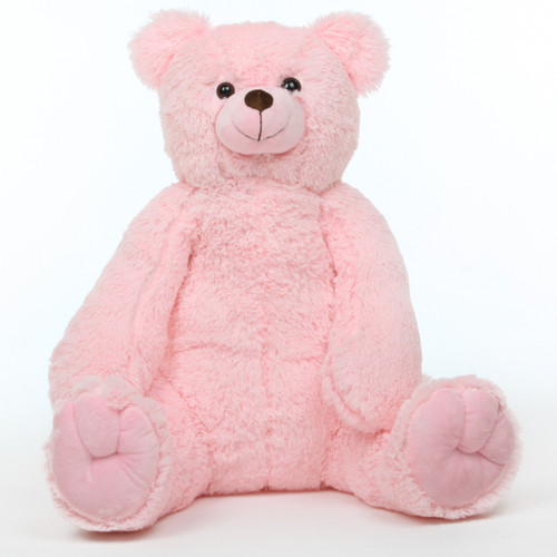 Darling Tubs Extra Cuddly and Soft Pink Teddy Bear 36in