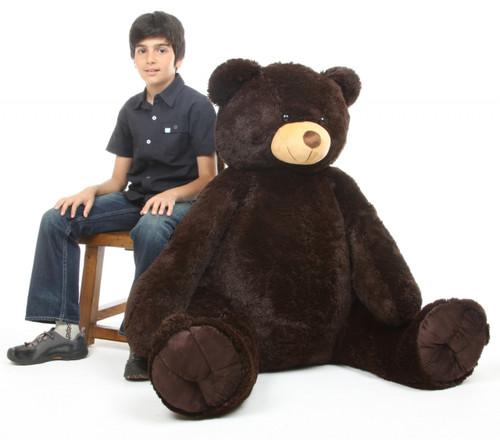 Baby Tubs Cuddly Chocolate Brown Teddy Bear 52 inch