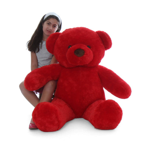 4Ft Extra Plump Red Riley Chubs Gift