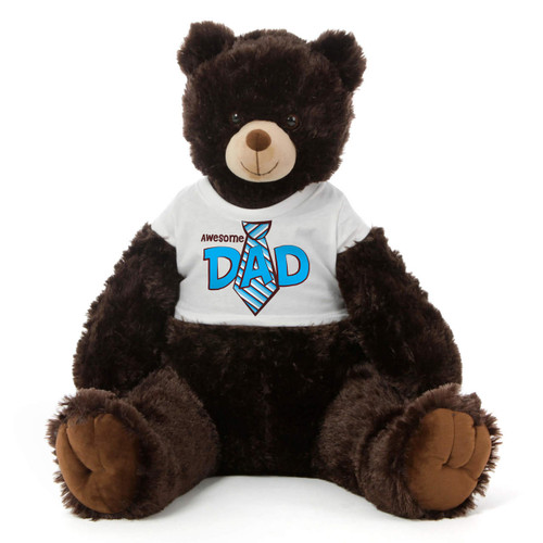2½ ft Chocolate Brown BigTeddy Bear For Dad