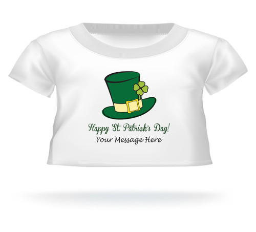 Happy St. Patrick's Day Giant Teddy Bear T-Shirt