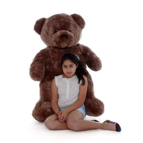 Big Chubs Plump and Adorable Mocha Brown Teddy Bear 48in