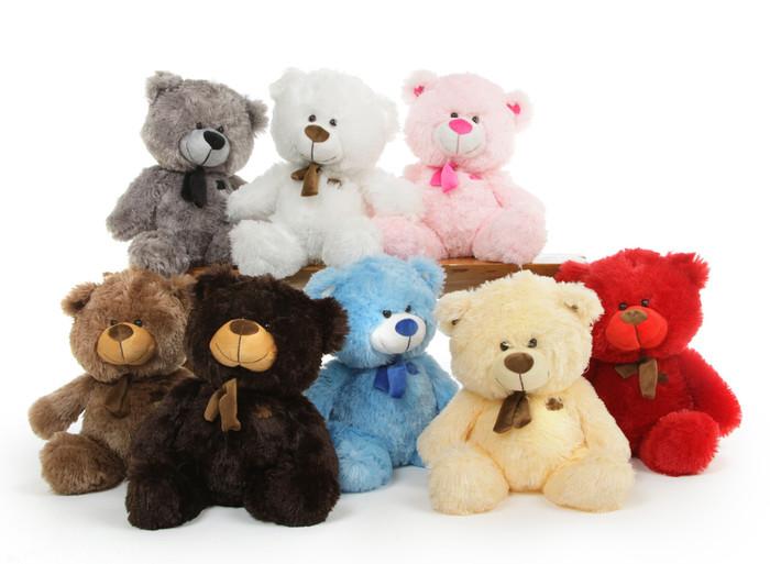 Baby Shags tiny cute plush teddy bear 18in