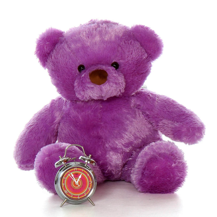 30'' Lila Chubs Purple Teddy Bear
