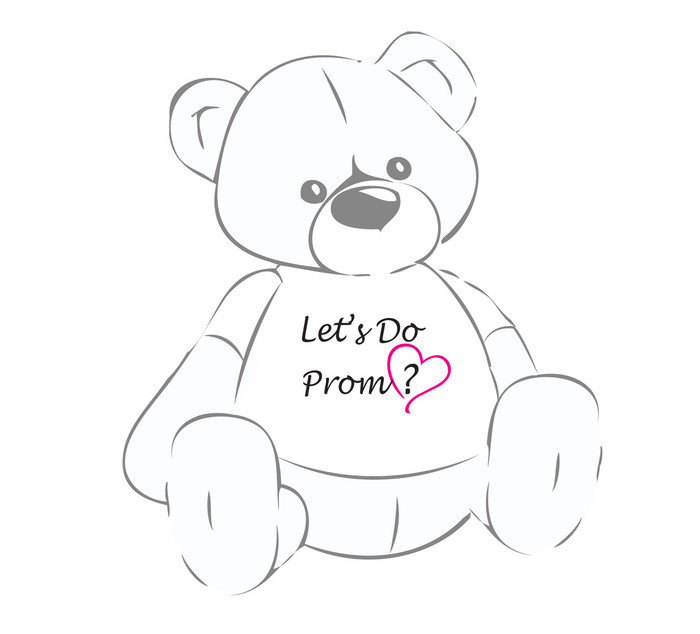 Let's Do Prom? Giant Teddy Bear shirt