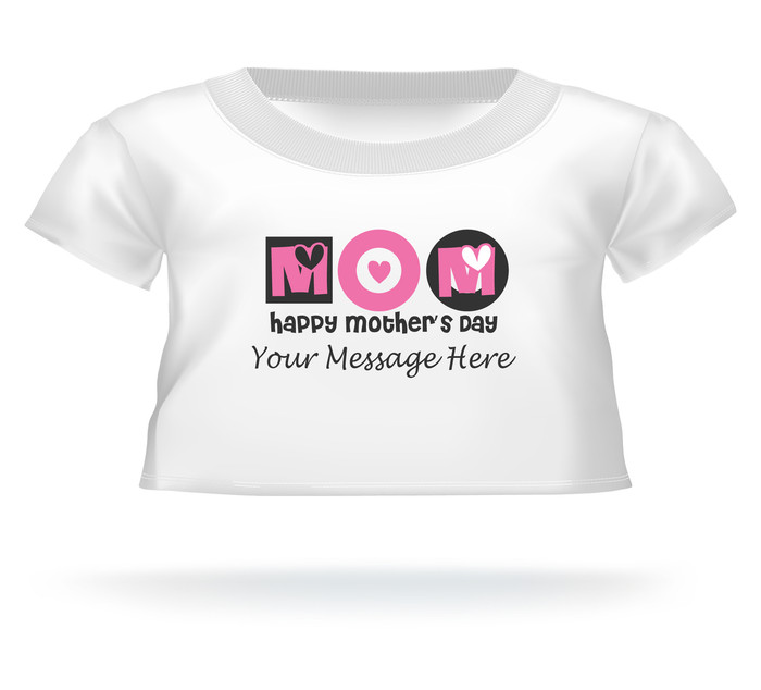 Personalized Happy Mother's Day MOM Giant Teddy Bear shirt