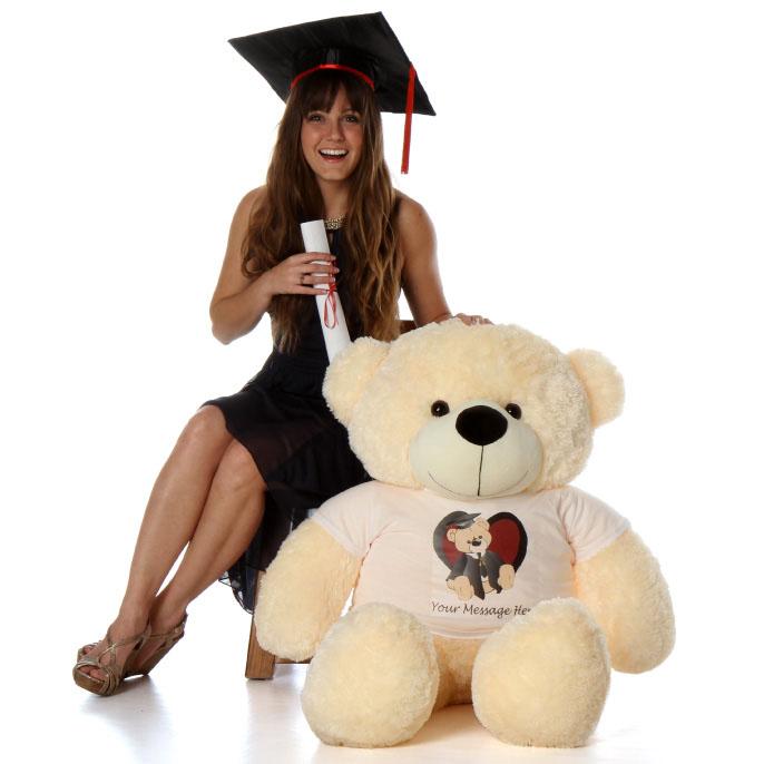 4ft-personalized-graduation-teddy-bear-4ft-cream-cozy-cuddles-heart-design-shirt.jpg