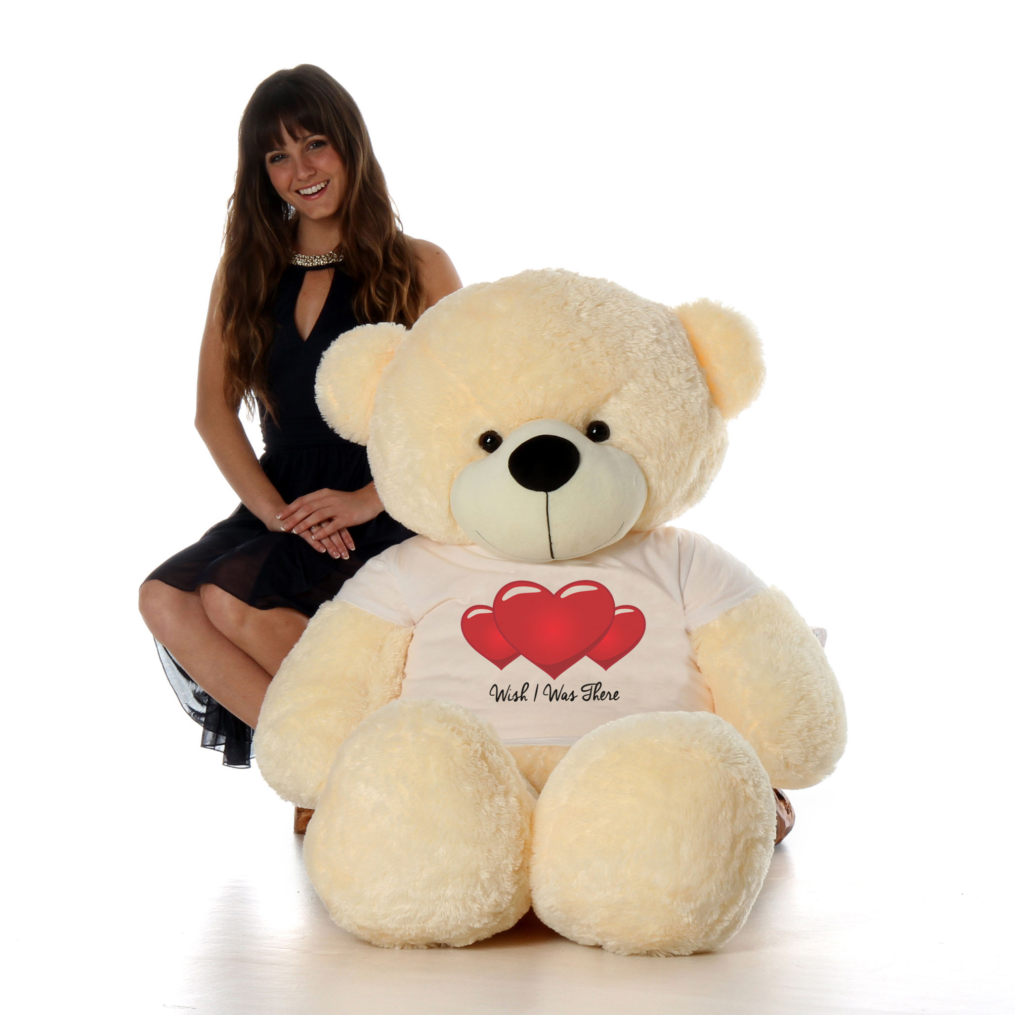 5ft-cozy-cuddles-vanilla-cream-giant-teddy-in-wish-i-was-there-t-shirt.jpg