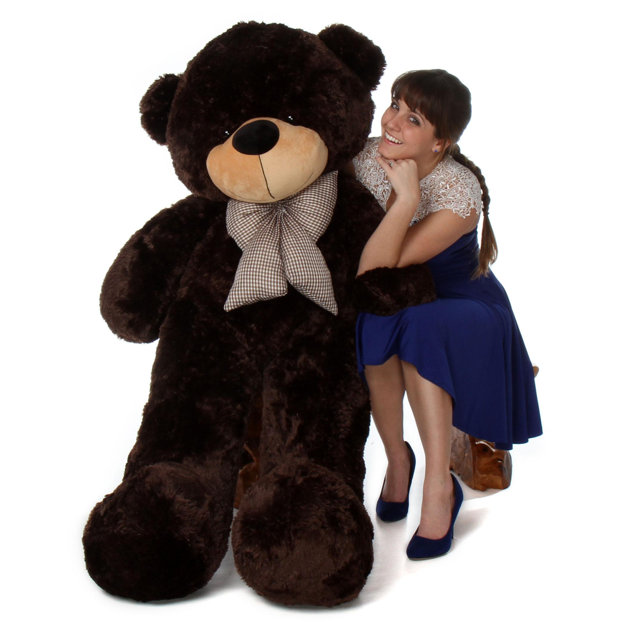 5ft-life-size-jumbo-teddy-bear-brownie-cuddles-softest-dark-chocolate-brown-fur.jpg
