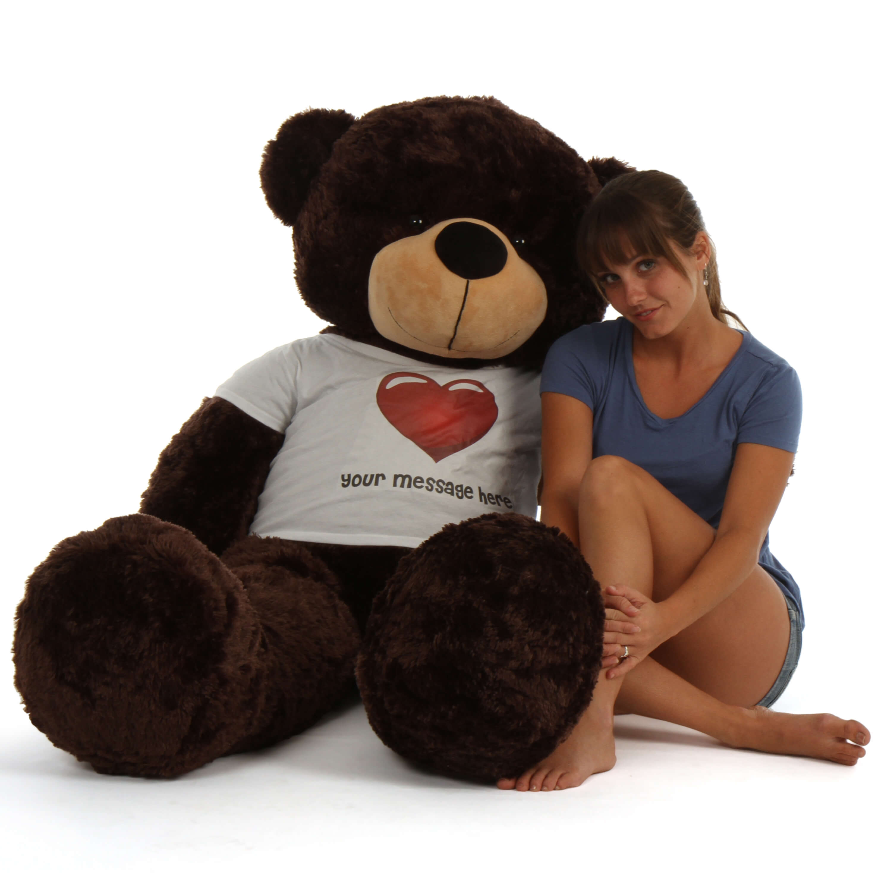 5ft-life-size-personalized-dark-brown-teddy-bear-brownie-cuddles-in-red-heart-shirt-1.jpg