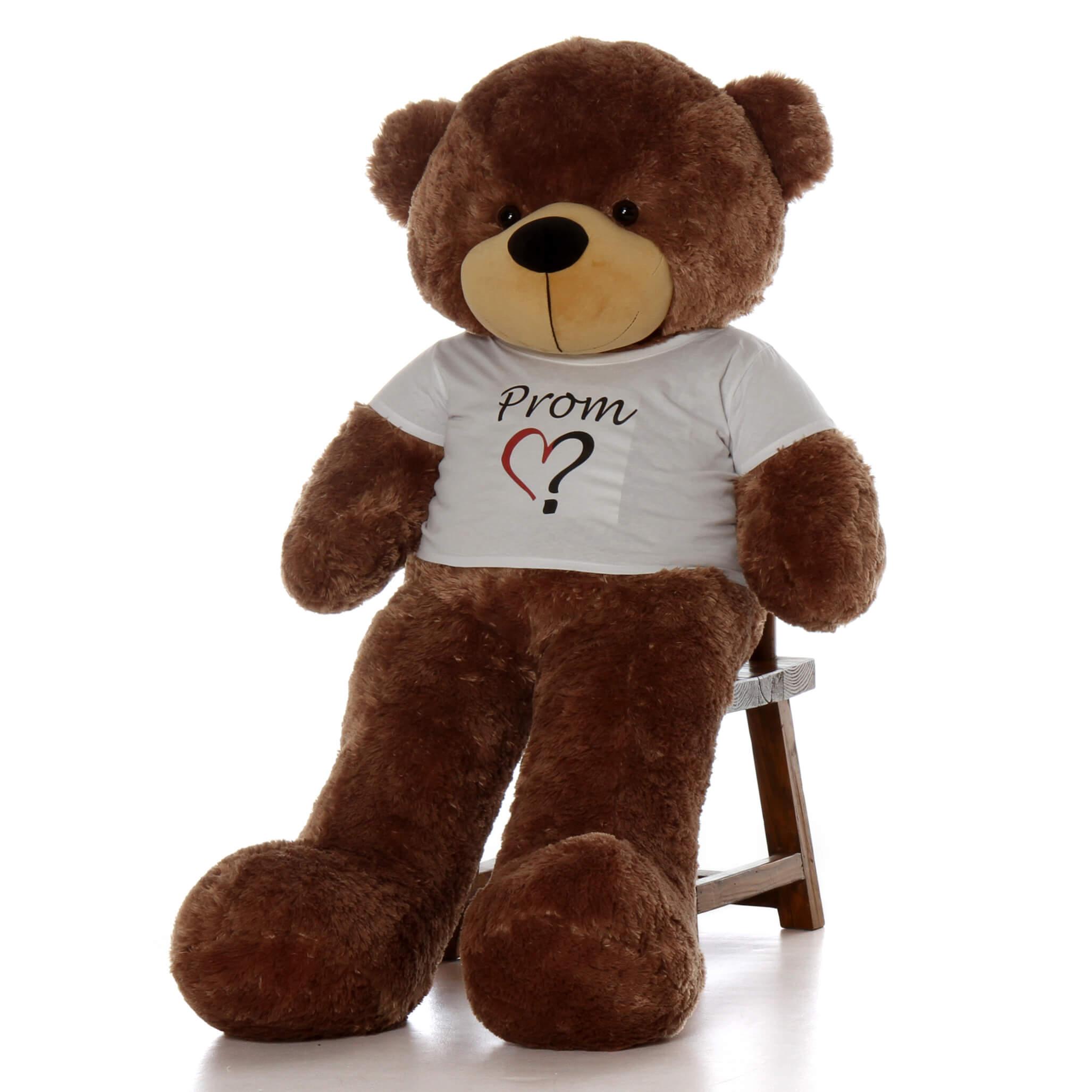 5ft-mocha-brown-teddy-bear-sunny-cuddles-in-a-heart-prom-shirt-1.jpg