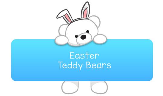 easter teddy bears