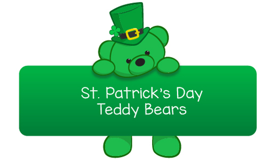 st patricks day teddy bears