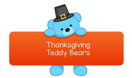 thanksgiving teddy bears