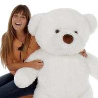 48in Sprinkle Chubs Giant White Teddy Bear (Model NOT included)