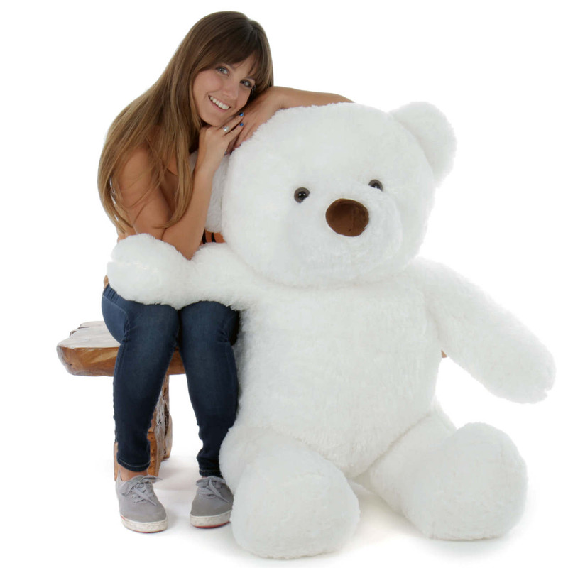 4ft Sprinkle Chubs White Bear by Giant Teddy (Model and Props are NOT included)