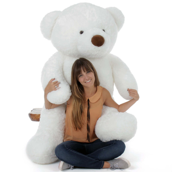 5ft Giant Teddy Bear White Sprinkle Chubs (Model NOT included)
