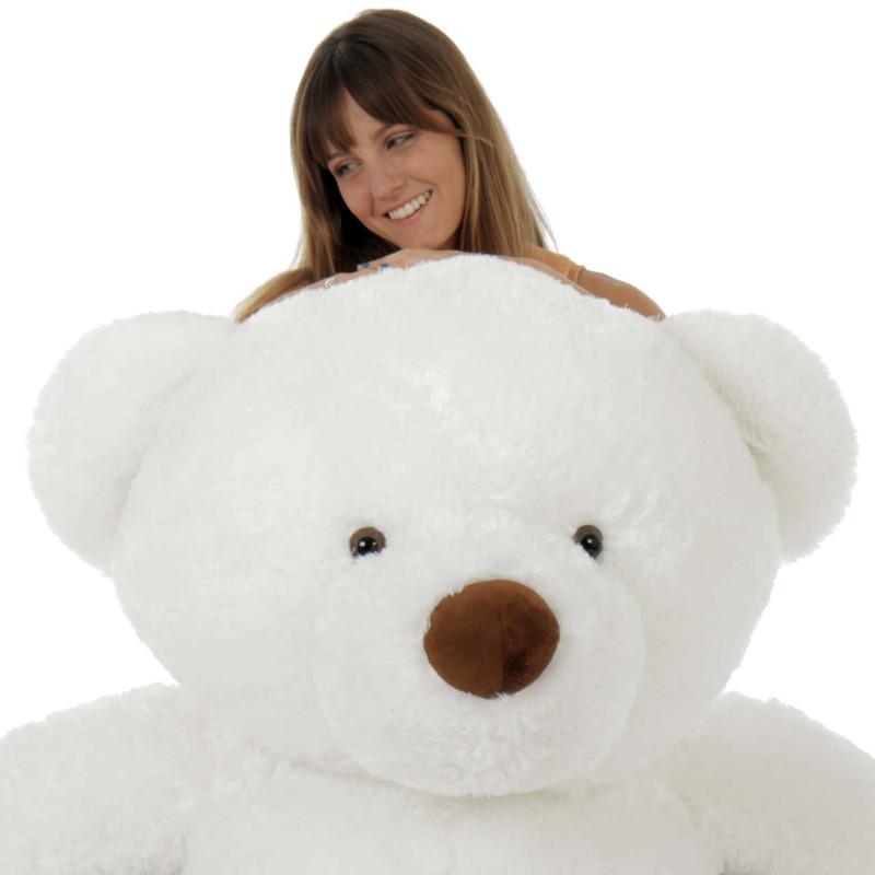 60in Bear White Sprinkle Chubs