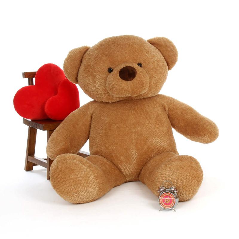 Big Amber Teddy Bear Cutie Chubs 60in