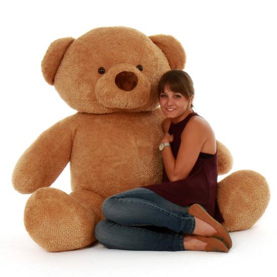 Big huggable and soft 5ft Teddy Bear Cutie Chubs