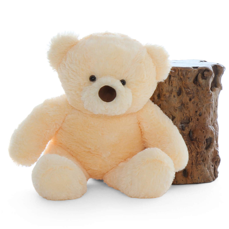 30in Giant Teddy bear in Vanilla Cream