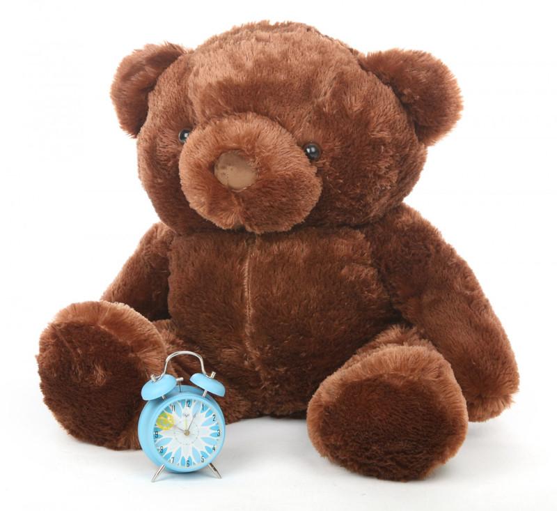 Buttercup Chubs chestnut brown teddy bear 38in