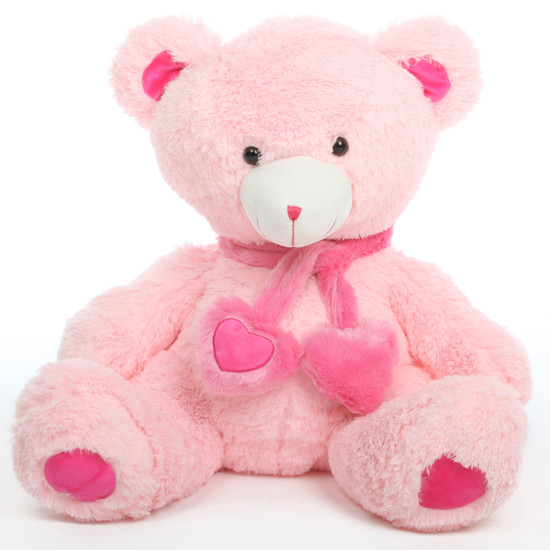 Candy Hugs pink teddy bear 30in